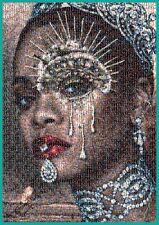 Rihanna Poster RIRI Fenty Mosaic Large A1 (Tiny Rihanna photos) rare cadeau de Noël
