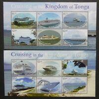 Tonga 2013 Kreuzfahrtschiffe Cruising Ships Ocean Liner Schiffe Postfrisch MNH