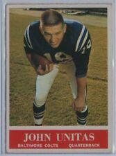 1964 PHILADELPHIA #12 JOHNNY UNITAS COLTS Football Trading Card Vintage