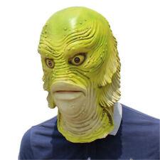 Black Lagoon Fish monster Mask Adult Latex halloween Costume Cosplay costume