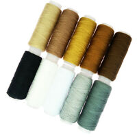 16Pcs Sewing Machine 100/% Polyester Thread for Coat Jeans Sewing Accessories