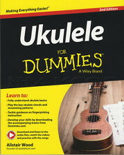 Ukulele for Dummies TAB Music Book with Audio & Video Learn How To Play Method
