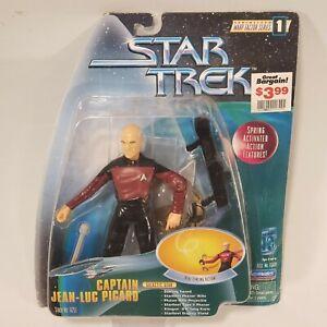 """Star Trek 1997 The Next Generation Warp Factor Series 1 Deluxe 6"""" Action Figure"""