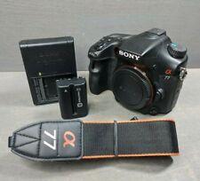 Sony Alpha A77 24.3MP Digital SLR Camera Body SLT-A77V - Read Description