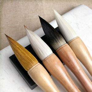 Extra Large Brush Chinese Traditional Hopper Shaped Painting Calligraphy Tools