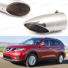 1Pcs Car Exhaust Muffler Tip Tail Pipe End Trim for Nissan Rogue / X-Trail #1072