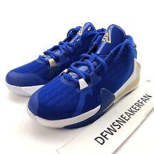 Nike Zoom Freak 1 Gs Greece Giannis Hyper Royal Metallic Gold Bq5633 400 Size 4Y