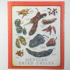 Cooks Illustrated Back Cover Only Kitchen Art John Burgoyne MEXICAN DRIED CHILES