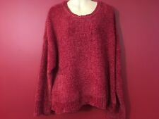 89TH + MADISON Women's Scarlet Red Soft Knit Sweater - Size 2X - NWT