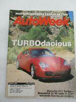 AUTO WEEK MAGAZINE DECEMBER 18, 200 PORSCHE 911 TURBO MOTORSPORTS YEAR IN REVIEW