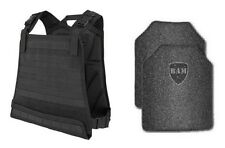 Body Armor | Bullet Proof Vest | AR500 Steel Plates | Base Frag Coating- CPC BLK