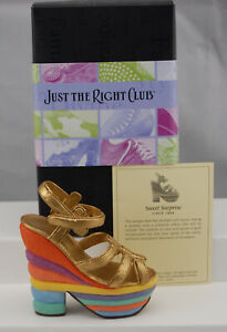 Just The Right Shoe by Lorraine Vail Shoe Miniatures- Sweet Surp.