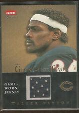 Walter Payton - Fleer Greats - 2004 - NFL card w/ Game-Worn Jersey