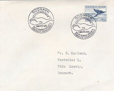 Greenland 1970 Bowhead Whale FDC Godhavn CDS VGC