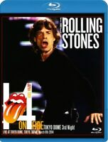 The Rolling Stones 14 On Fire 2014 Tokyo Dome 3rd Night Japan Blu-ray Disc-R BDR
