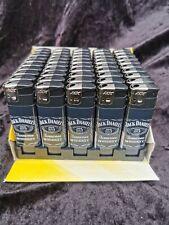 5 X JACK DANIELS ELECTRONIC LIGHTER Refillable / Adjustable