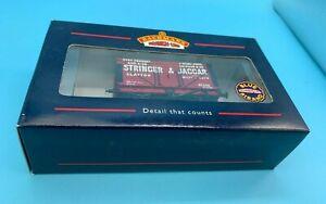 BACHMANN OO 37-178 7 PLANK WAGON WITH COKE RAIL - 'STRINGER & JAGGER' - boxed
