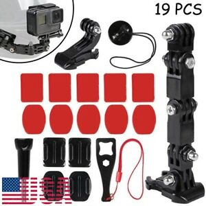 Helmet Chin Mount Kit for GoPro Hero 6/5/4 Sports Camera Accessories Cycle Motor
