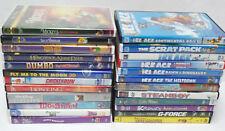 Lot Of 24 Walt Disney DVDs Christmas Kids Childrens Movies Classics Ice Age RARE