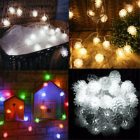 3M 20LED Pine Cone Fairy String Lights Party Patio Wedding Christmas Home Decor