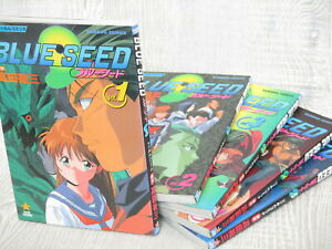 BLUESEED Manga Film Comic Complete Set 1-5 YUZO TAKADA Book TS