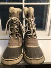 Sorel Waterproof Boots Size 8