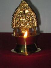 Brass Kamakshi Oil Lamp Diya Hindu Godess Laxmi Wealth Navratri Navratra Diwali