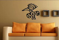 Tribal mur Autocollant Personnalisé Art No15 vinyle autocollant grand Aztèque Maya murale transfert