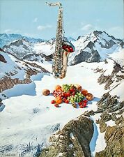 Doug Webb - Tootie Fruity, 1996, Acrylic On Linen, Framed