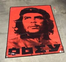 Che Guevara poster obey banner communist propaganda socialist sign hat figure