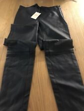 Next Petite Pu Faux Leather Trousers. New Tagged Uk 10