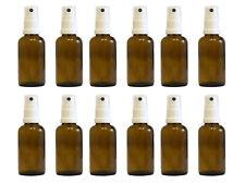 Apotheker-Sprühflaschen Braunglas Zerstäubereffekt 10 teilig 50 ml Glasflaschen