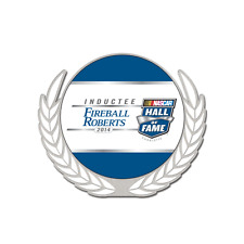 NASCAR HALL of FAME FIREBALL ROBERTS 2014 INDUCTEE PIN