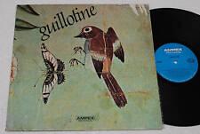 GUILLOTINE:LP-1°PRESS PROGRESSIVE CANADA 1970 TOP EX+