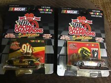 Pair Of 1/64 Racing Champions Toys R Us #94 Mcdonalds/ #99 Bruce Lee Cars