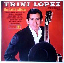 TRINI LOPEZ - THE LATIN ALBUM - REPRISE LP - GERMAN PRESSING