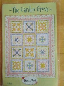 The Garden Grove Quilt Kit