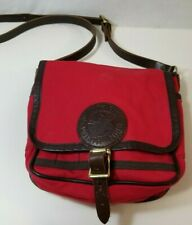 DULUTH PACK Shell Purse Red Medium Messanger Travel Bag