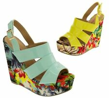 Dolcis Synthetic Wedge Very High (greater than 4.5\) Women's Heels""