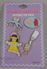 Melanie Martinez Cry Baby Enamel Pin Set 4 Pack Mobile Bottle Rattle Doll Logo