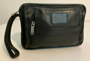 Tumi Leather Mens Bag – Organizer Travel Clutch 995 - Limited Edition