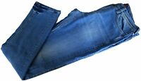 Jeans Uomo Denim Jaggy Men Mcqueen Slim Str Denim Cortius P90