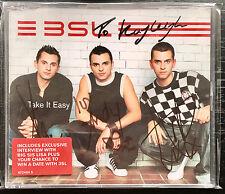 3SL 'Take It Easy' Fully *Signed* CD Single w/ Andy Scott-Lee