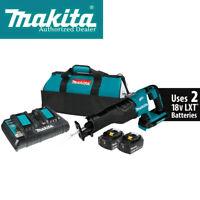 Makita XRJ06PT 36-Volt LXT 5.0Ah Lithium-Ion Brushless Reciprocating Saw Kit