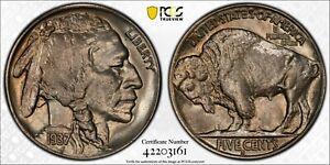 1937-S Indian Head Buffalo Nickel  MS-65 PCGS  Gold Shield True View Label