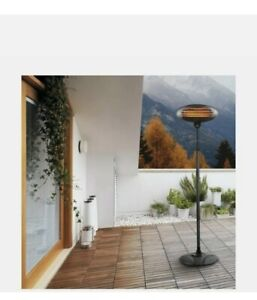Electrical 2KW Quartz Free Standing Outdoor Garden Patio Heater | Brand New!🔥
