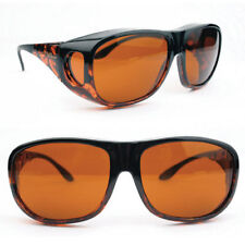 Eschenbach Orange Solar Shields Amber Filter LARGE FitOvers Glasses Sunglasses