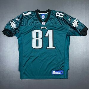 100% Authentic Terrell Owens Reebok Eagles Jersey Size 48 XL Mens