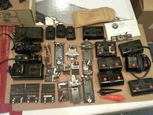 Lionel  controllers, track locks, handles and other parts lot.