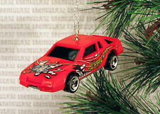 CHEVY STOCKER CHEVROLET STOCK CAR RACING RACE RED CHRISTMAS ORNAMENT